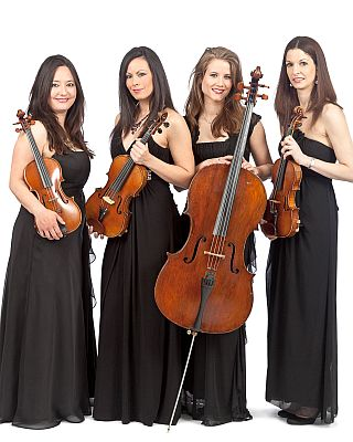 Wedding string quartet London